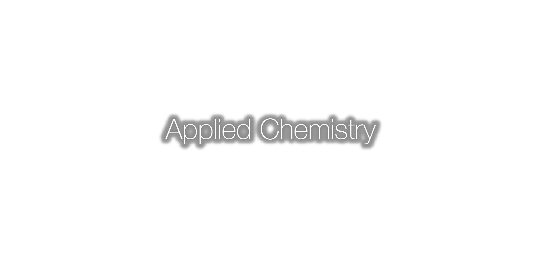 Environmental Applied Chemistry
