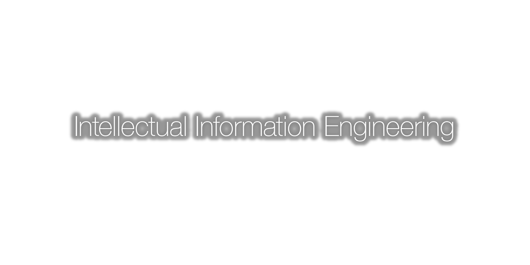 Intellectual Information Engineering