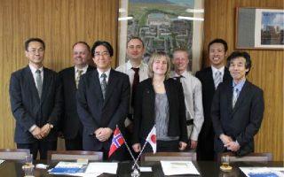 ノルウェー科学技術大学自然科学技術部教員等が富山大学工学部を訪問