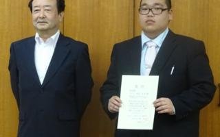 機械知能システム工学専攻2年の池田光児さんが日本設計工学会北陸支部研究発表講演会で奨励賞を受賞しました