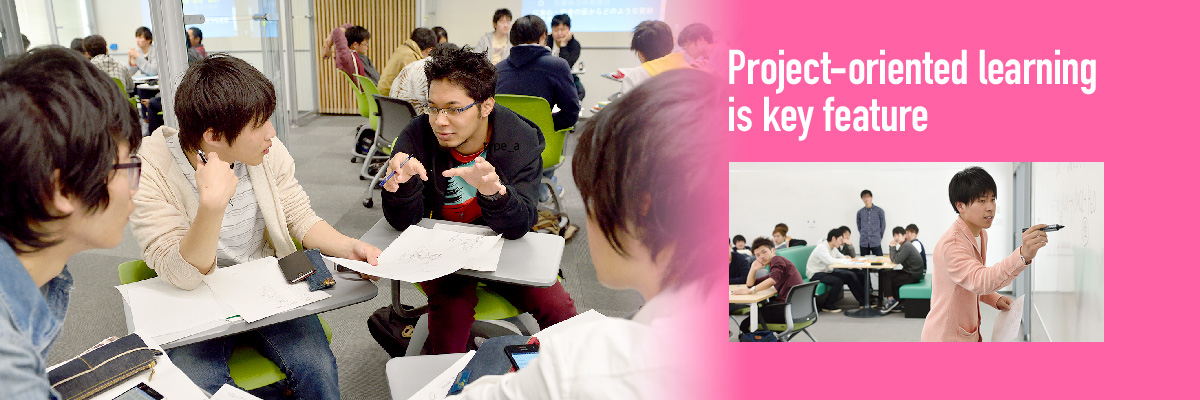 Project-oriented learning is key feature