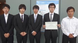 第5回富山・バーゼル医薬品研究開発シンポジウムにおいて、修士課程2年生阿部良匡さんら(知能情報工学専攻/コース)のポスター論文が優秀賞を受賞しました